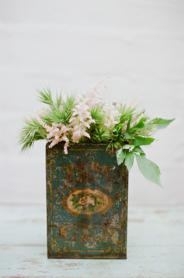 Centerpiece ideas with Oak and the Owl, Found Vintage Rentals and Lane Dittoe