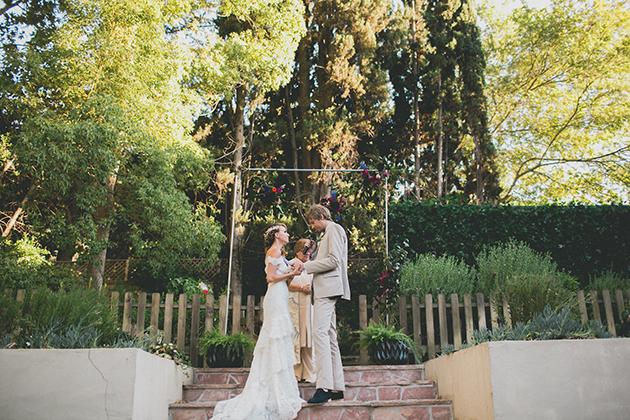 06Keltie-Knight-Rock-n-Roll-Boho-Wedding-Studio-Castillero-bride-groom-ceremony