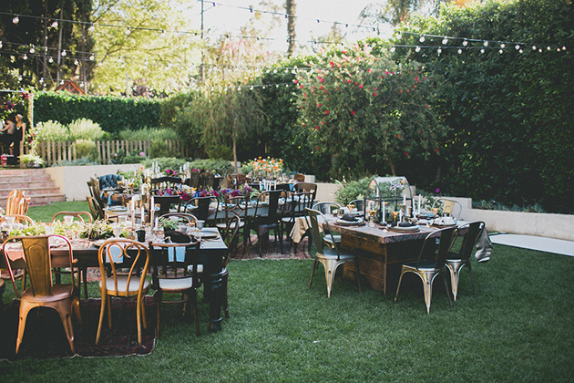 09Keltie-Knight-Rock-n-Roll-Boho-Wedding-Studio-Castillero-reception-tables