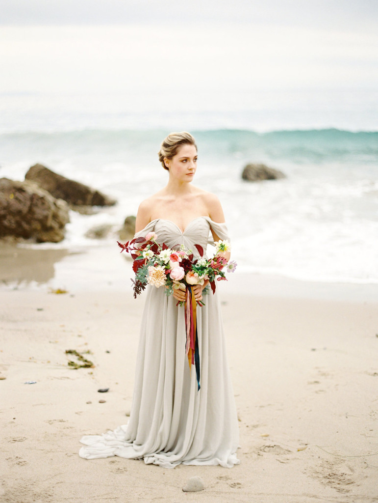 Romantic Seaside Styled Shoot