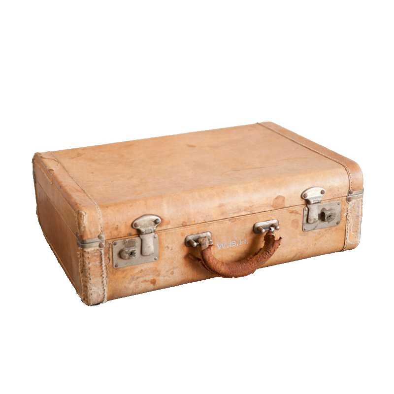 Berkshire Tan Suitcase