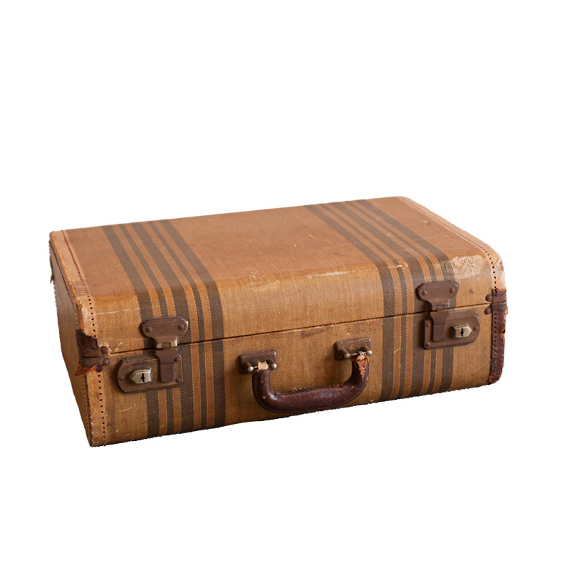 Mildred Striped Suitcase
