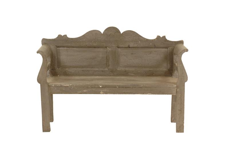 Abery Grey Bench