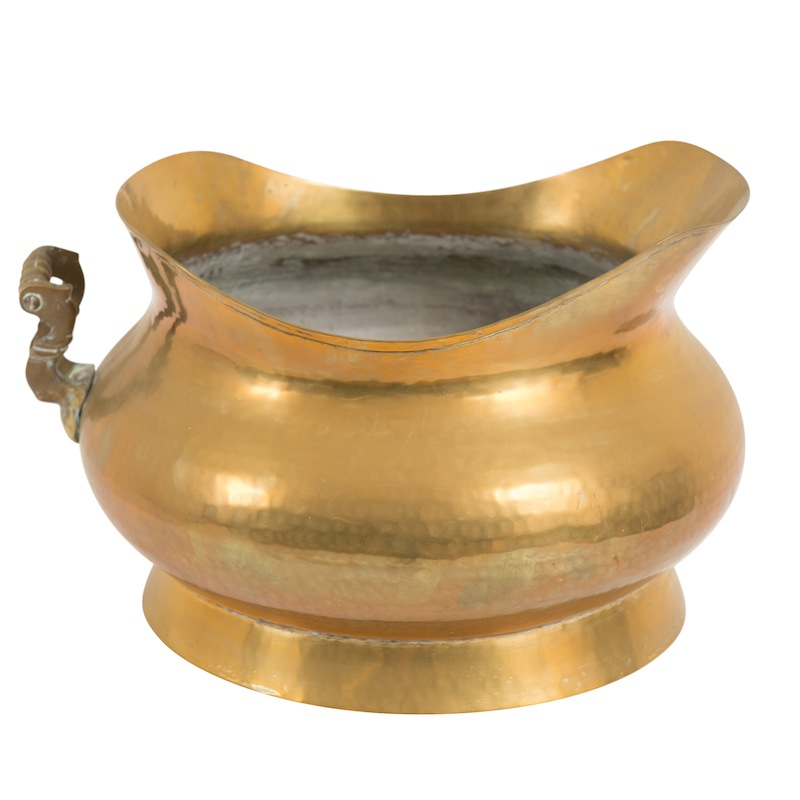 McRae Brass Pot