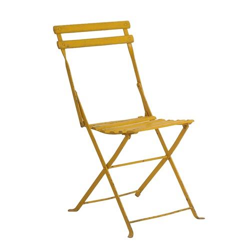Cosette Yellow Bistro Chair