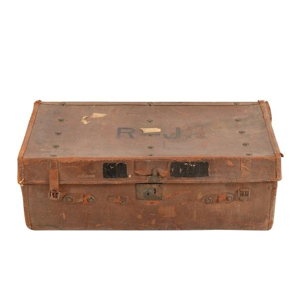 Rolando Leather Suitcase