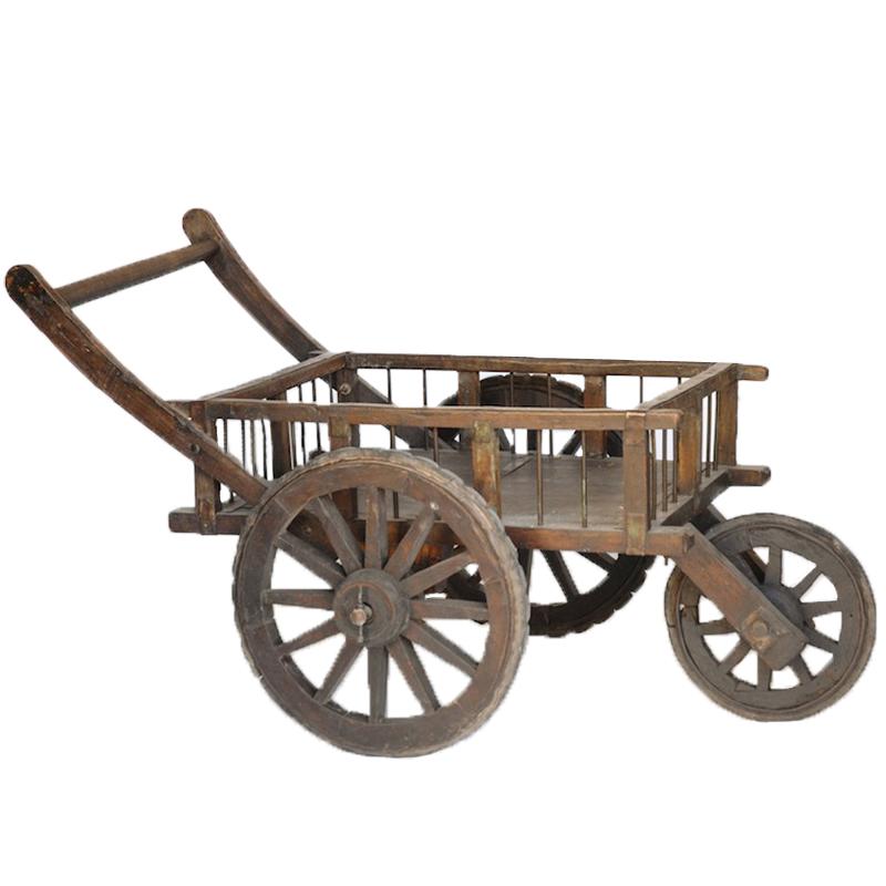 Olvera Wooden Cart