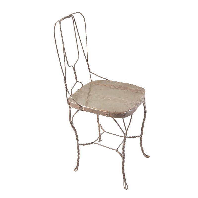 Nelson Medium Brown Wire Chair