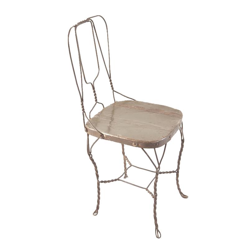 Nelson Medium Brown Wire Chair