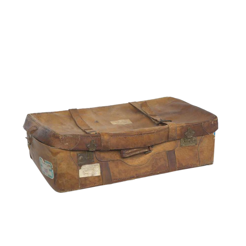 Marcus Brown Suitcase