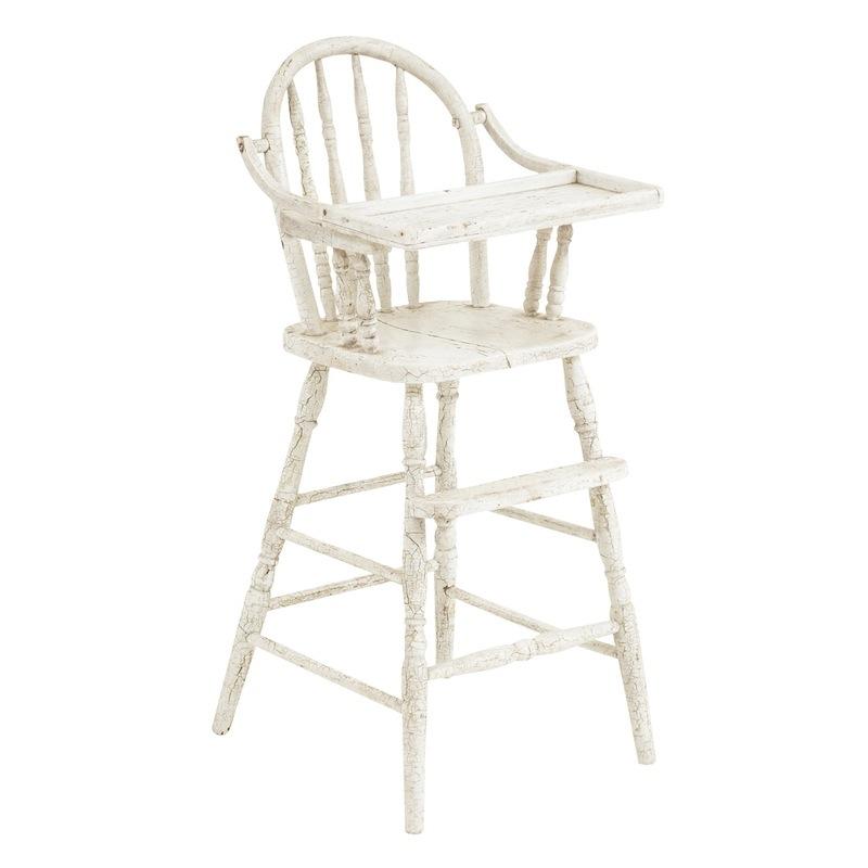 Archie White High Chair