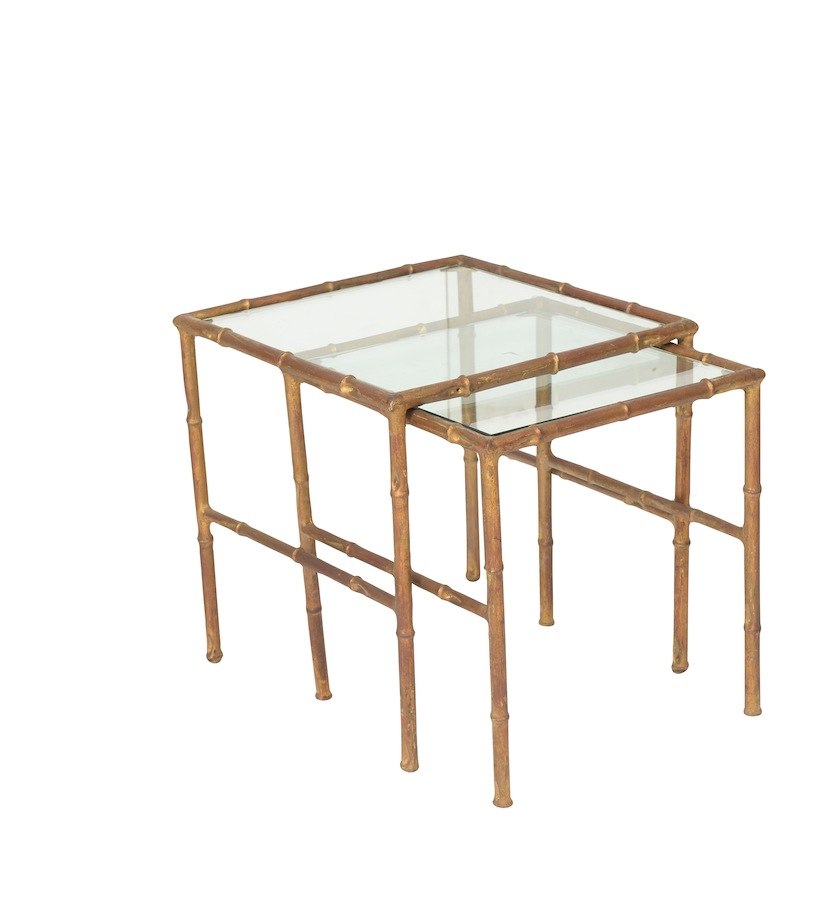 Tino Brass Nesting Tables