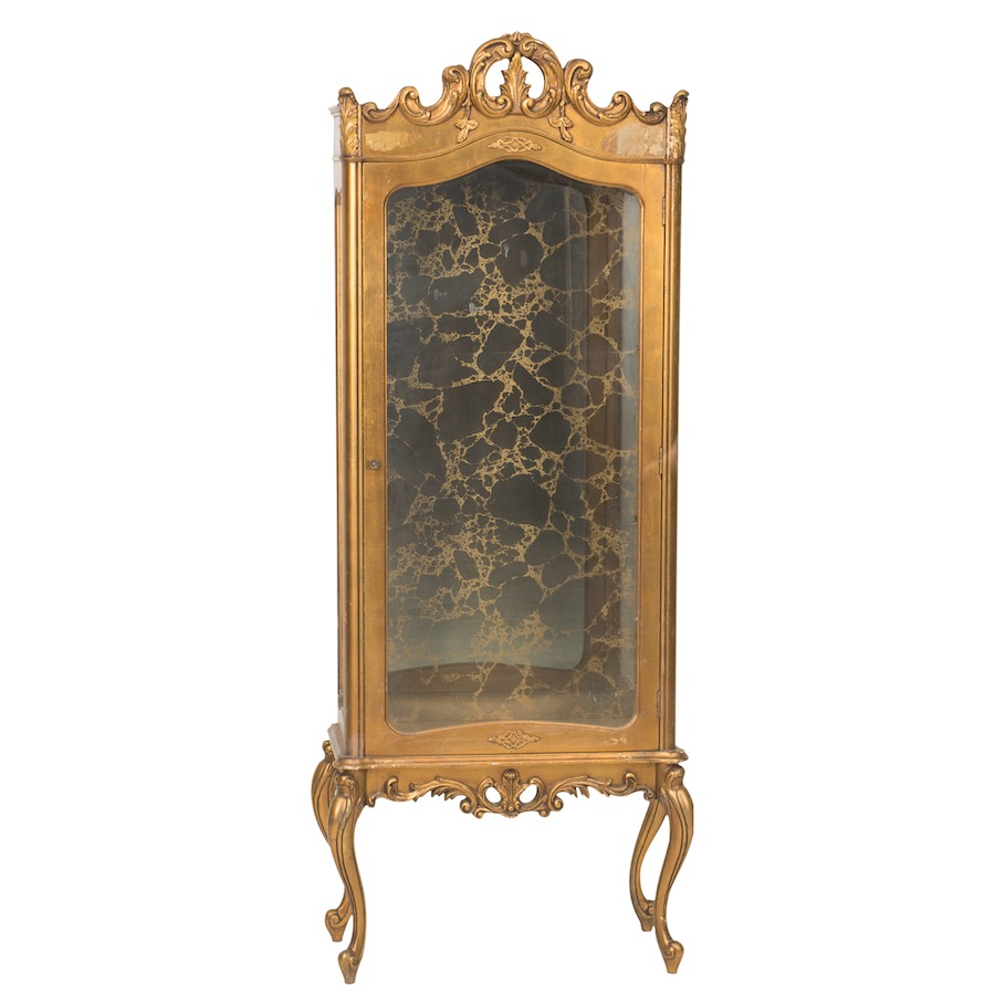 Narnia Gold Cabinet