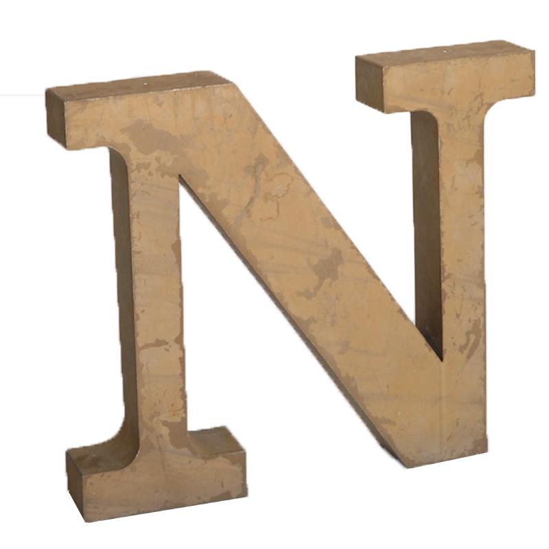 """Coons Letter """"N"""""""