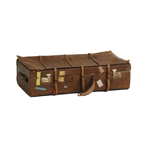 Kirk Leather Suitcase