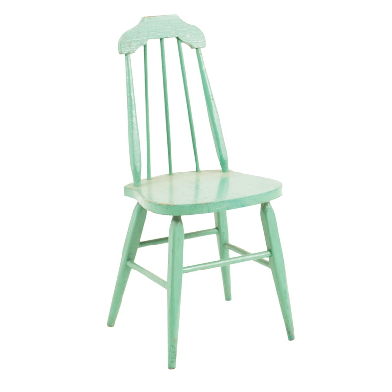 Nesbitt Teal Chair