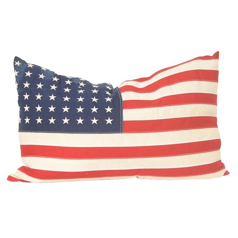Hero Flag Pillow