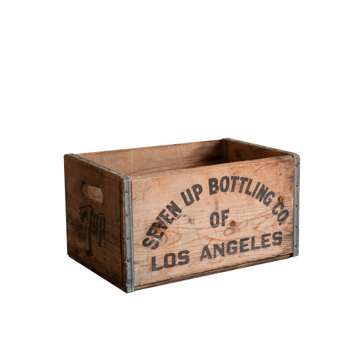 Seven-Up Bottling Crates