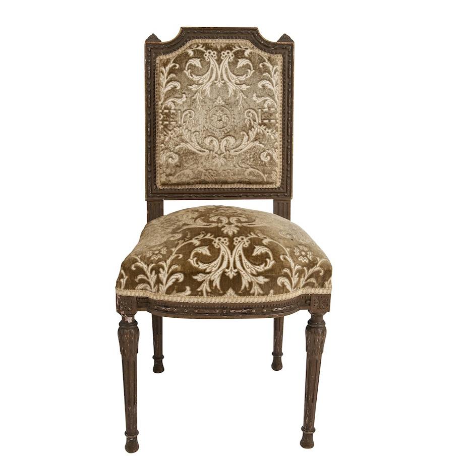 Cambridge Velvet Chairs