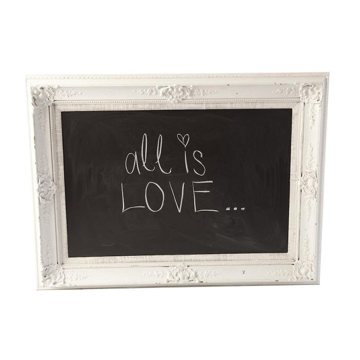 Spelling Framed Chalkboard
