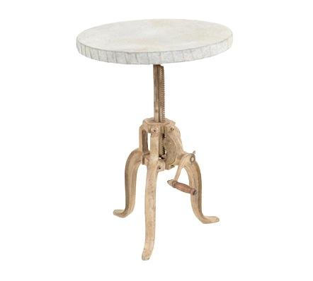 Kenzie Industrial Side Table