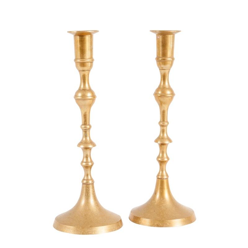 Derger Gold Candlesticks (pair)