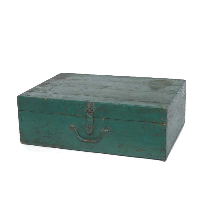 Waverly Green Wooden Box