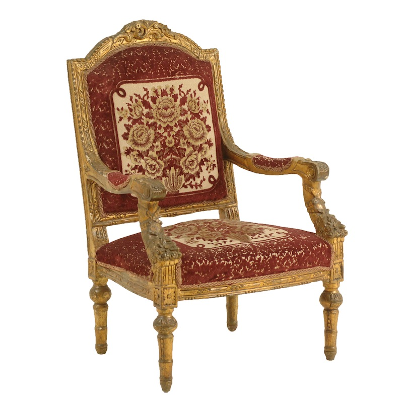 Buxton Burgundy Chair