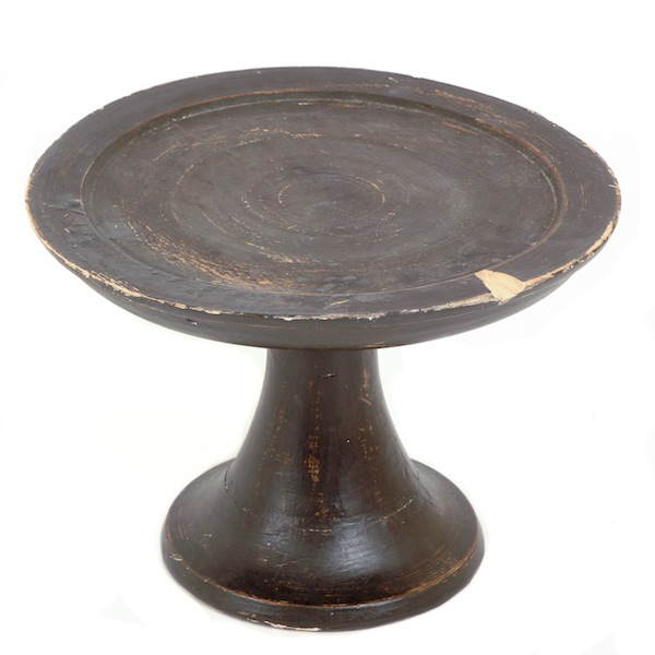 Rose Small Wooden Cake Stand