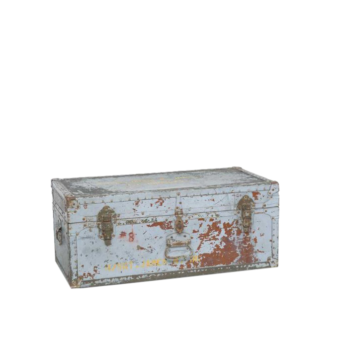 Howard Military Trunk