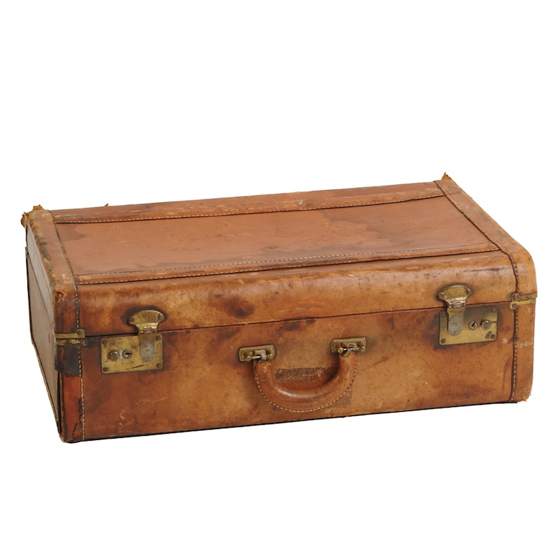 Tilden Leather Suitcase