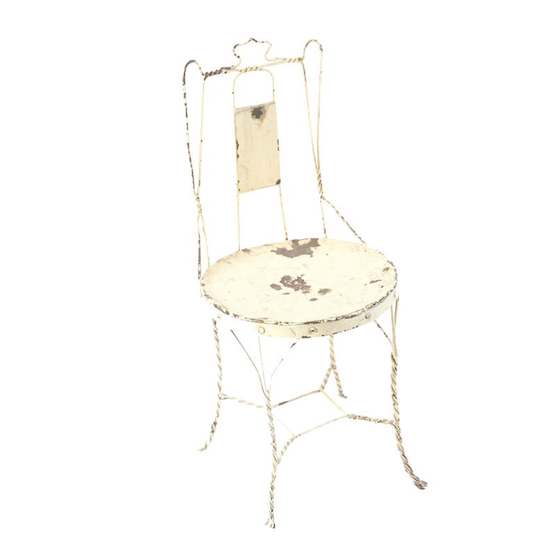 Nelson Cream Wire Chair