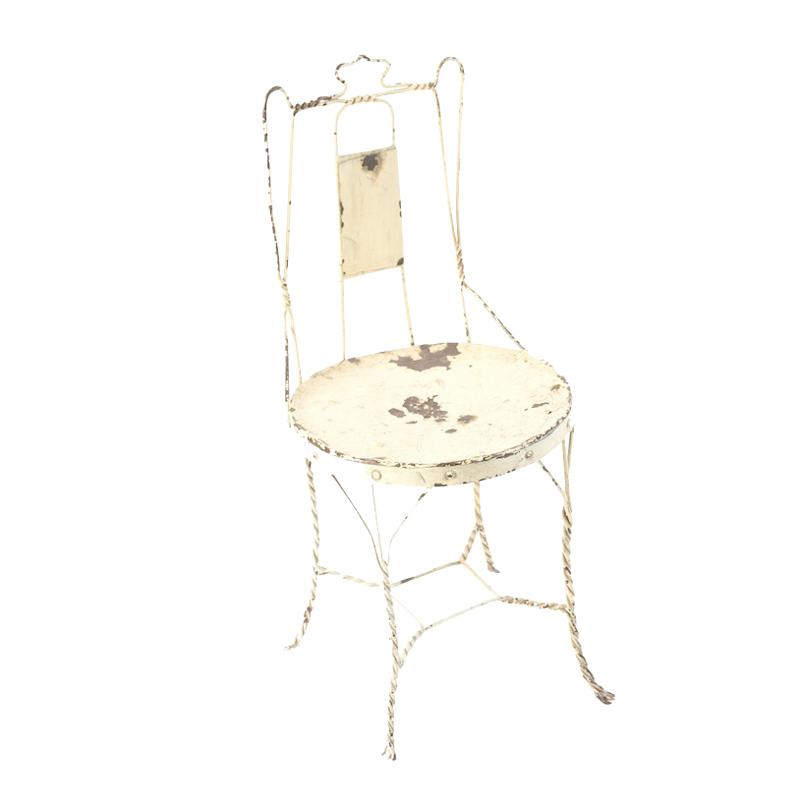 Nelson Cream Wire Chair