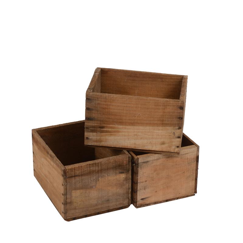 Modesto Wooden Boxes