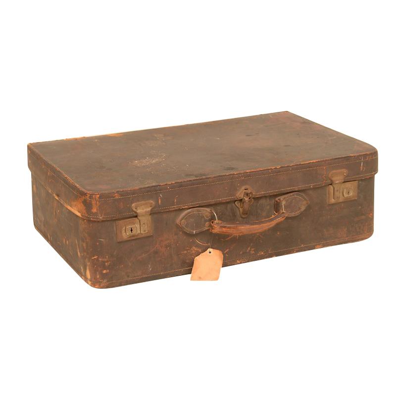 Sadden Leather Suitcase