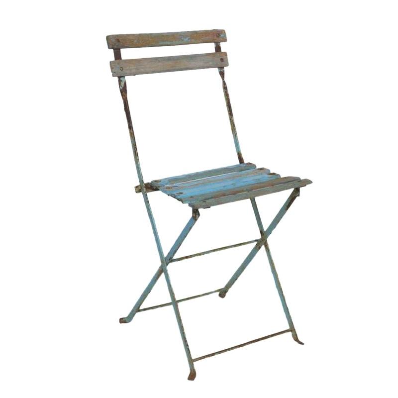 Cosette Blue Bistro Chairs