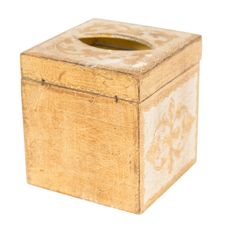 Anton Gold Tissue Box