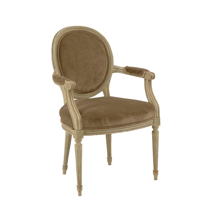 Rialto Velvet Armchairs