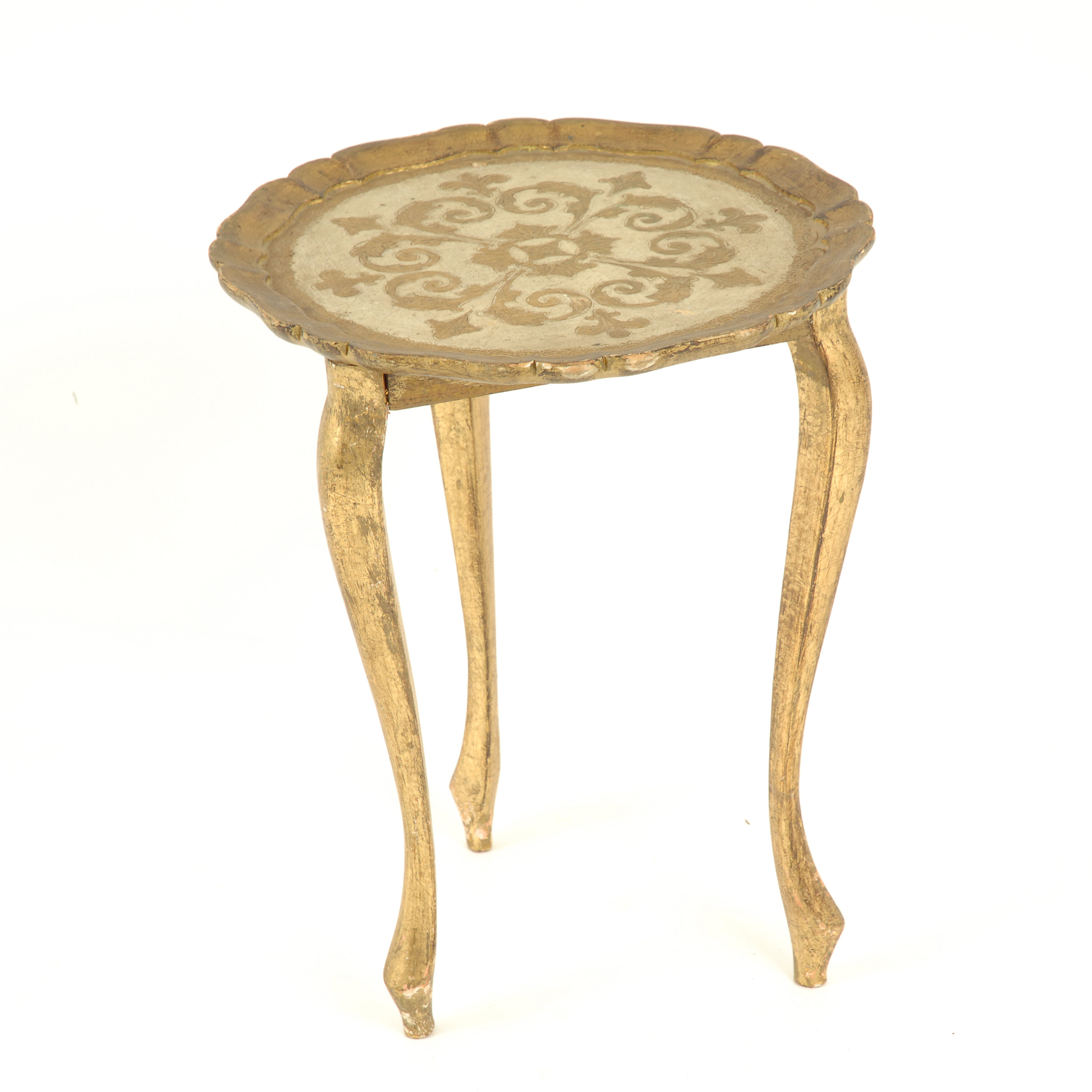 McKinley Gold Side Table
