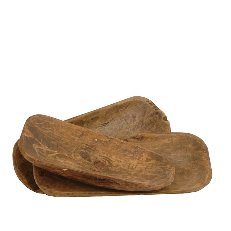 Trey Wooden Plates (set of 3)