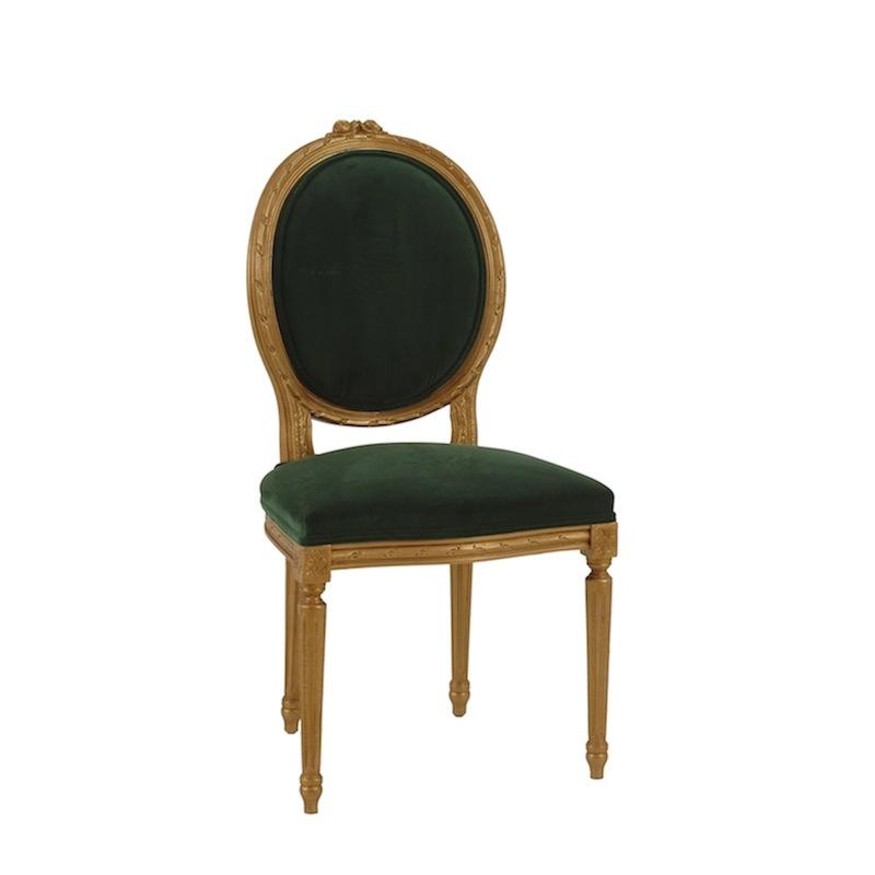 Merveilleux Jade Emerald Chairs