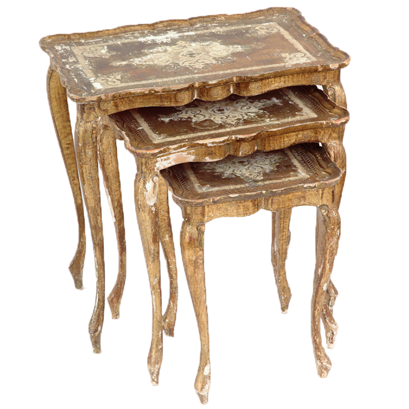 Kent Gold Nesting Tables (set of 3)