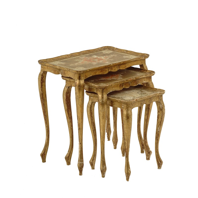 Patrick Gold Nesting Tables (set of 3)