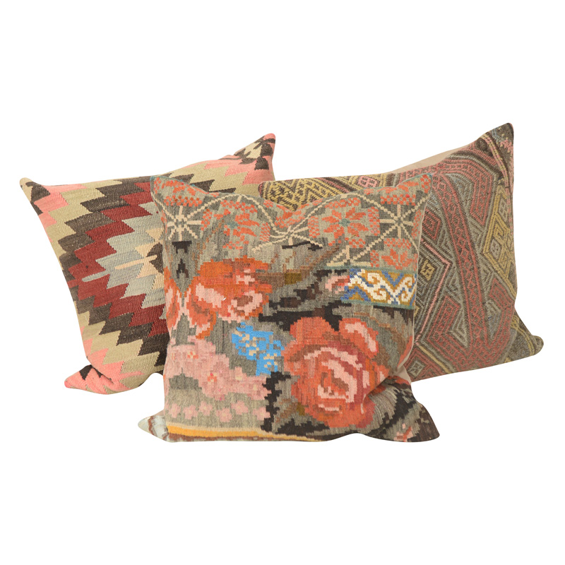 Telum Kilim Pillows (set of 3)