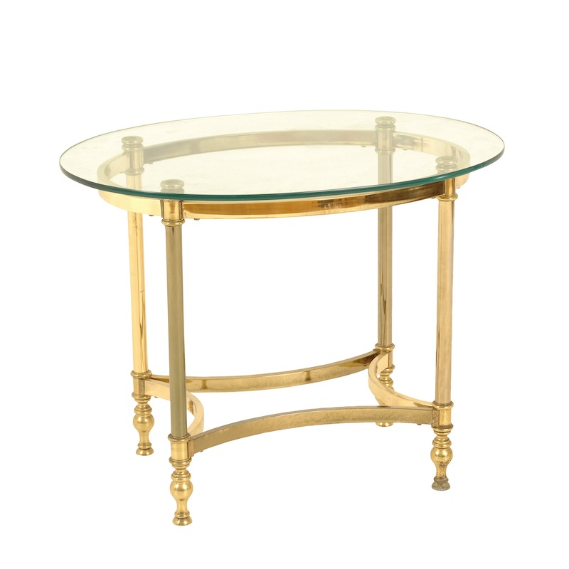 Jude Brass Side Table