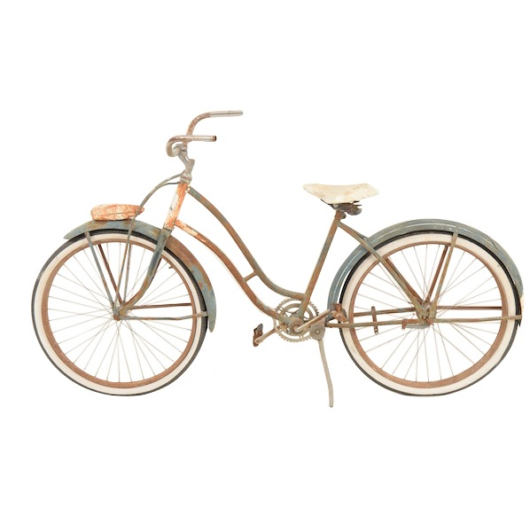 Krissa Weathered Bicycle