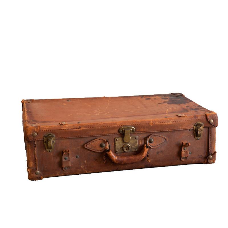 Oakwood Leather Suitcase