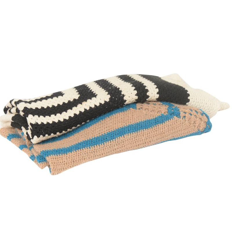 Twiggy Graphic Throws (set of 2)