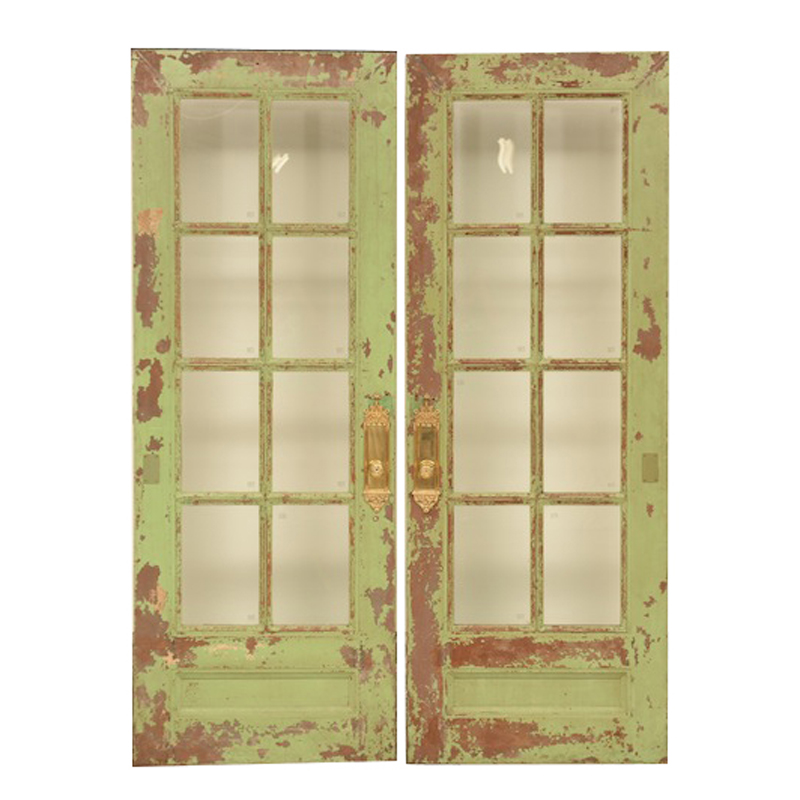 Laverne Green Doors (pair)