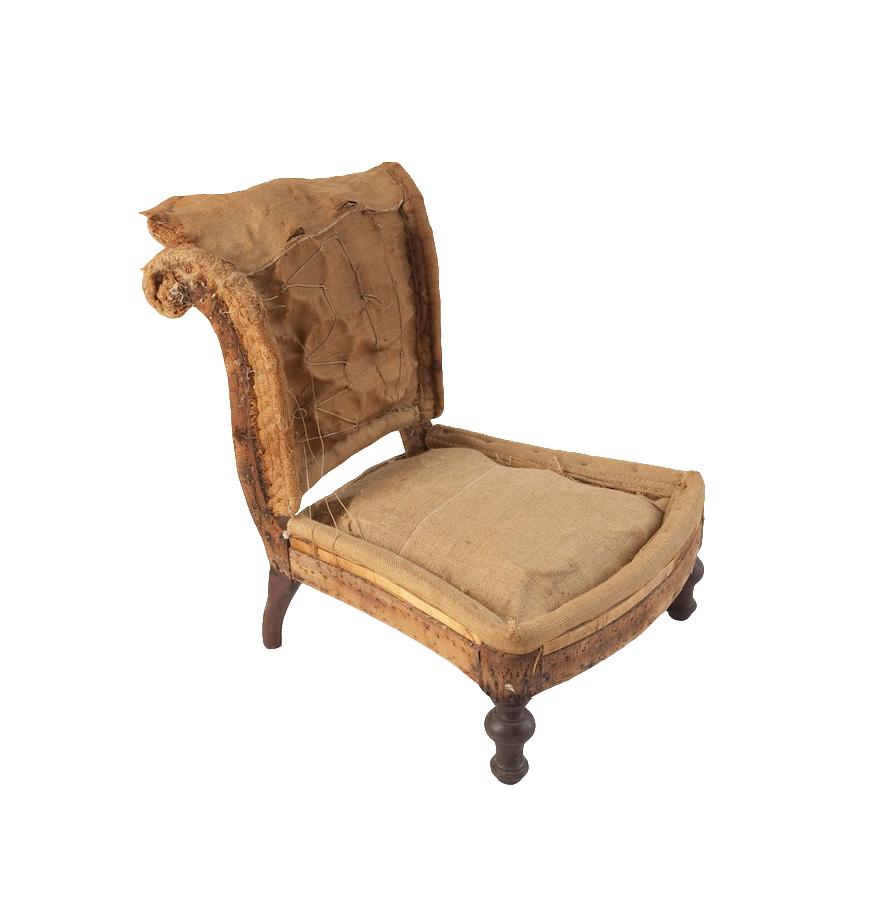 Henrietta Burlap Chair